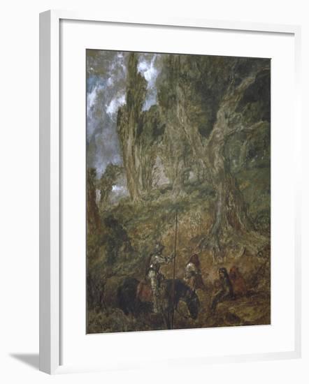 The Lost Route, 1894-John Gilbert-Framed Giclee Print