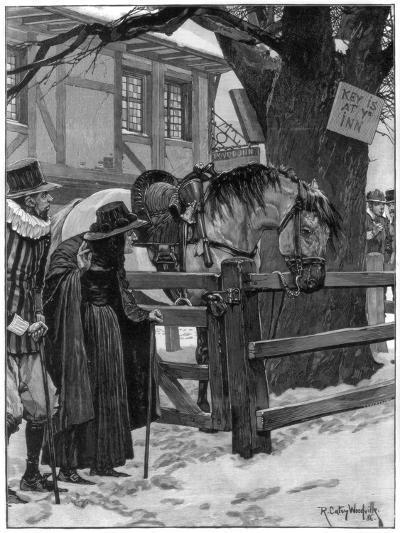 The Lost Trooper's Horse, 1887-Richard Caton Woodville II-Giclee Print