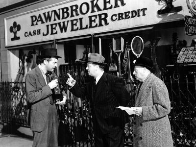 The Lost Weekend, Ray Milland, Lester Sharpe, Bertram Warburgh, 1945--Photo