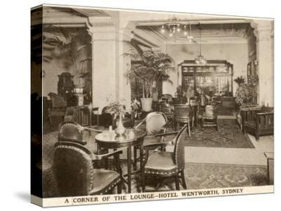 The Lounge at the Hotel Wentworth, Sydney, New South Wales, Australia