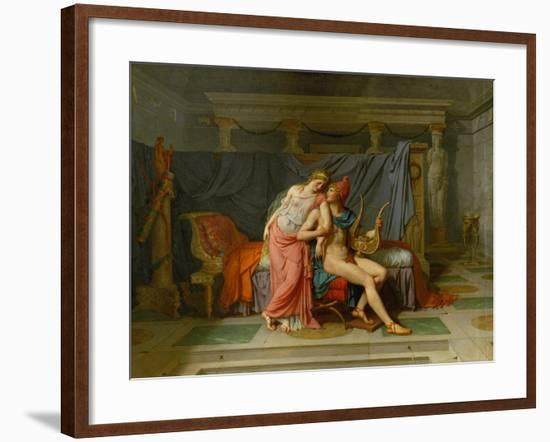 The Love of Paris and Helen-Jacques-Louis David-Framed Giclee Print