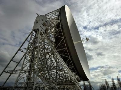 The Lovell Telescope at Jodrell Bank Observatory in Cheshire, England-Stocktrek Images-Photographic Print