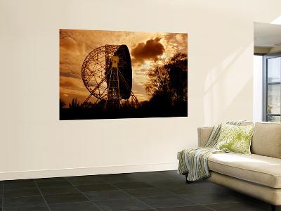 The Lovell Telescope at Jodrell Bank Observatory in Cheshire, England-Stocktrek Images-Wall Mural