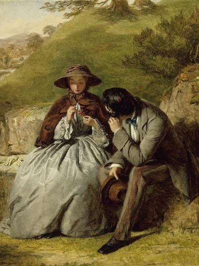 The Lovers, 1855-William Powell Frith-Giclee Print