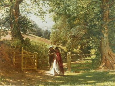 The Lovers' Tryst-Richard Redgrave-Giclee Print