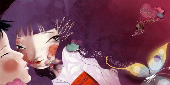 The Lovers-Anna Ziliz-Art Print