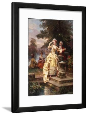 The Lovers-Cesare A^ Detti-Framed Giclee Print