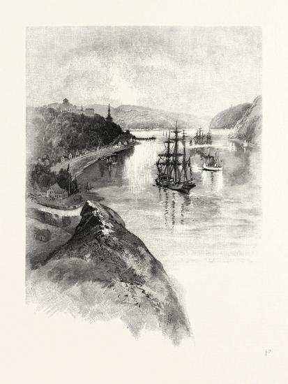 The Lower St. Lawrence and the Saguenay, Chicoutimi, Canada, Nineteenth Century--Giclee Print