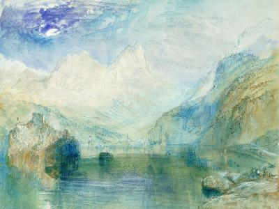 The Lowerzer See-J^ M^ W^ Turner-Giclee Print