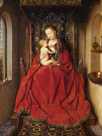 The Lucca Madonna-Jan van Eyck-Giclee Print