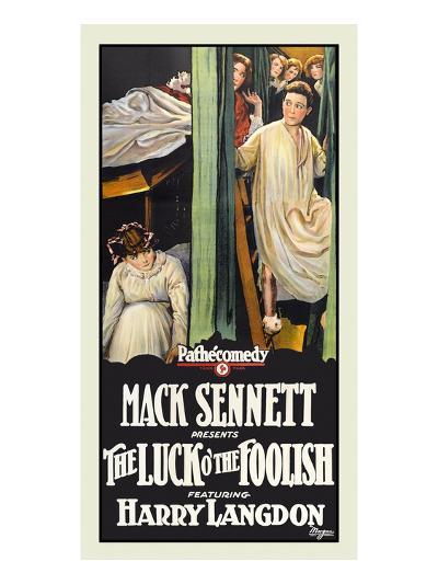 The Luck O' the Foolish-Mack Sennett-Art Print
