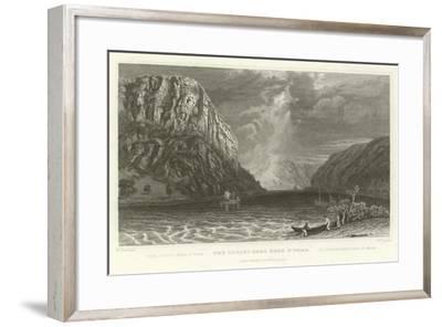 The Lurley Berg Near St Goar-William Tombleson-Framed Giclee Print