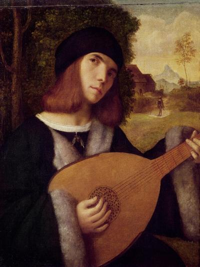 The Lute Player-Giovanni de Busi Cariani-Giclee Print