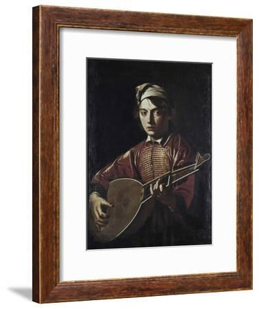 The Lute Player-Caravaggio-Framed Giclee Print