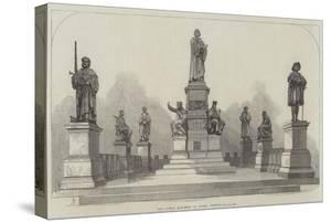The Luther Monument at Worms, Germany