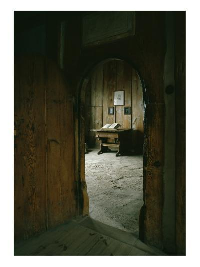 The Luther Room in the Wartburg Castle--Giclee Print