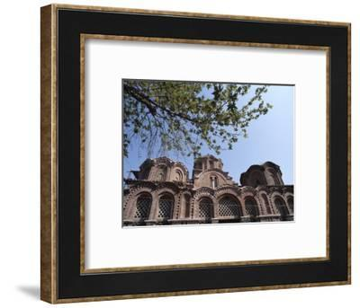 The Macedonian style Byzantine church of St Catherine, Thessaloniki, Greece-Werner Forman-Framed Photographic Print