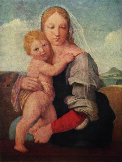 The Mackintosh Madonna, C1510-1512-Raphael-Giclee Print