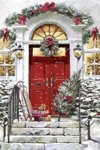 Xmas Door by The Macneil Studio