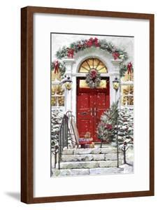 Xmas Door by The Macneil Studio