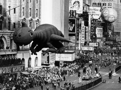 The Macy's Thanksgiving Day Parade, Times Square, New York City, November 28, 1963--Photo