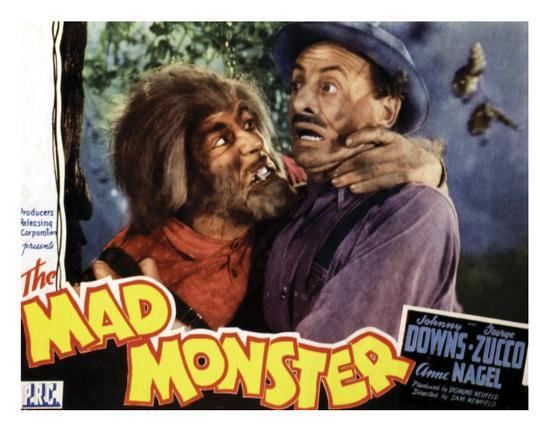 The Mad Monster - 1942 I--Giclee Print