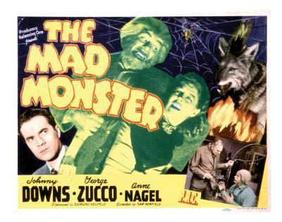 The Mad Monster - 1942 II--Giclee Print