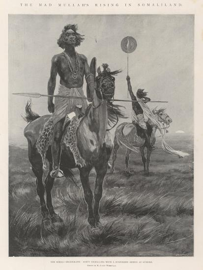 The Mad Mullah's Rising in Somaliland-Richard Caton Woodville II-Giclee Print