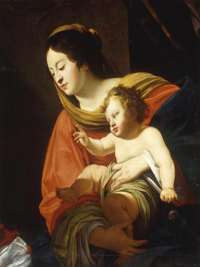 The Madonna and Child-Simon Vouet-Giclee Print