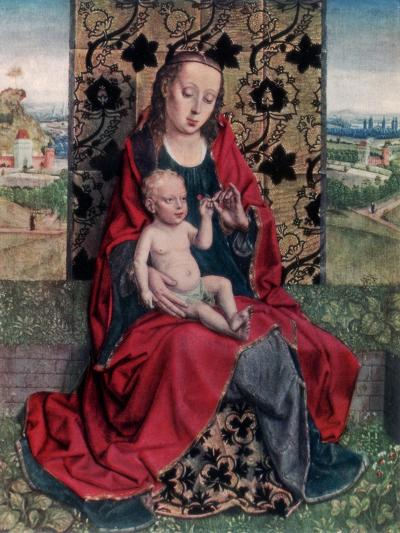 The Madonna and Child-Dirck Bouts-Giclee Print