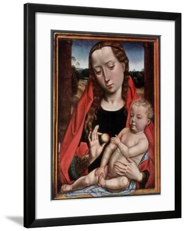 The Madonna and Child-Hans Memling-Framed Giclee Print