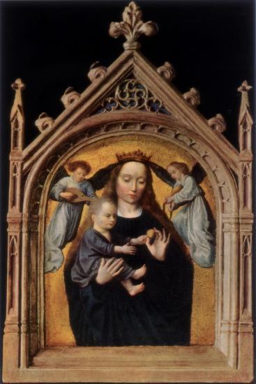 The Madonna and Child-Gerard David-Giclee Print
