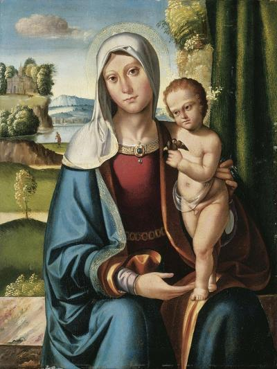 The Madonna and Child-Benvenuto Tisi Da Garofalo-Giclee Print