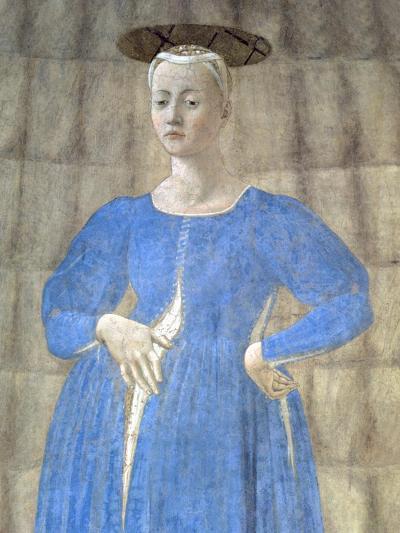 The Madonna Del Parto, c.1450-70-Piero della Francesca-Giclee Print