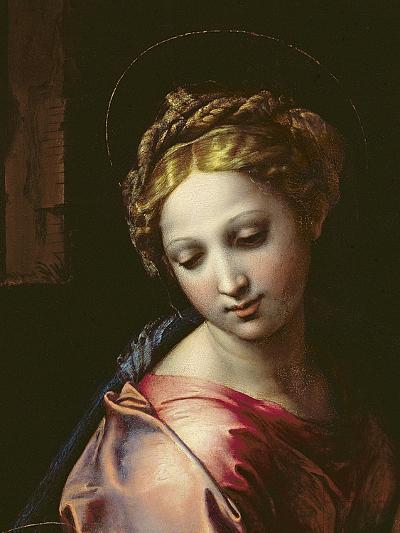 The Madonna (Detail), C.1518-Raphael-Giclee Print