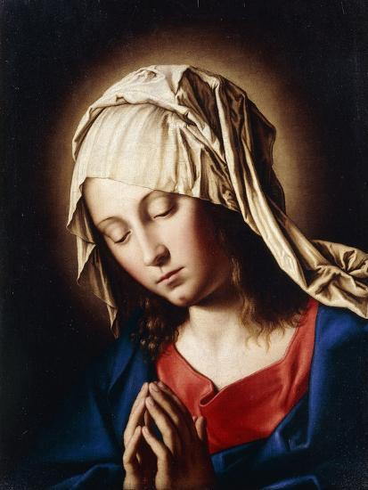 The Madonna in Prayer--Giclee Print