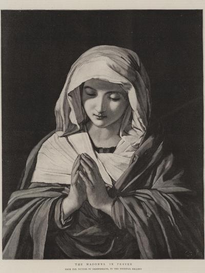 The Madonna in Prayer-Il Sassoferrato-Giclee Print