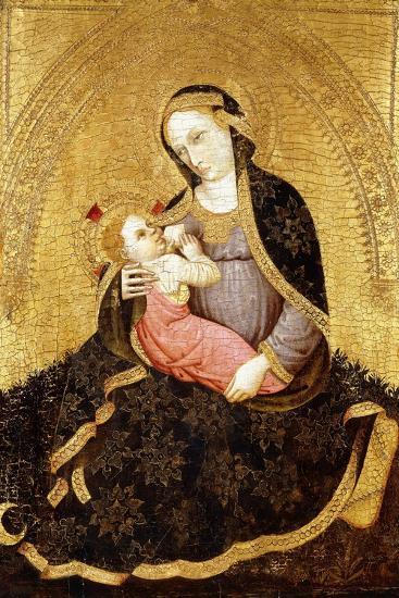 The Madonna of Humility-Jacobello del Fiore-Giclee Print