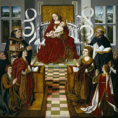 The Madonna of the Catholic Monarchs, 1491-1493--Giclee Print