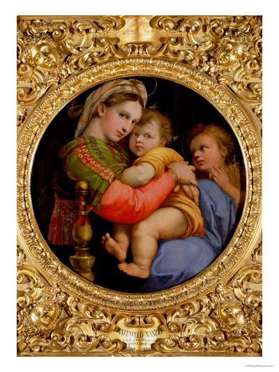 The Madonna of the Chair-Raphael-Giclee Print