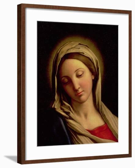 The Madonna-Giovanni Battista Salvi da Sassoferrato-Framed Giclee Print