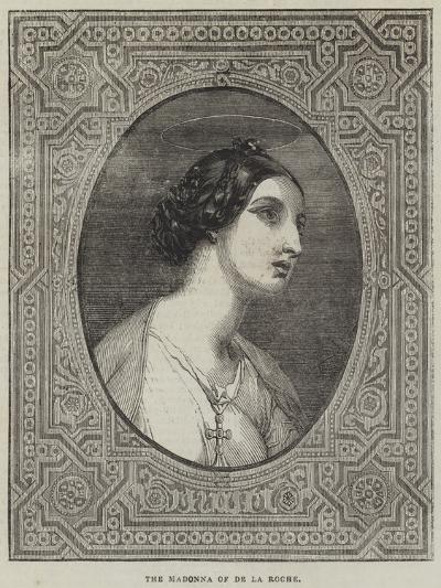 The Madonna-Hippolyte Delaroche-Giclee Print