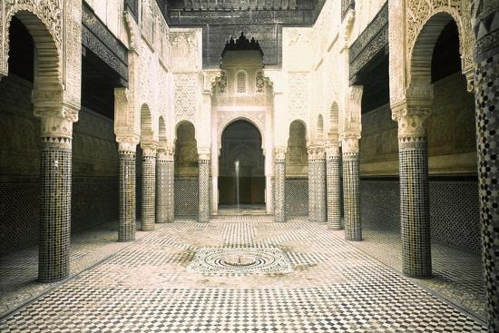 The Madrasa at Sale-Werner Forman-Giclee Print
