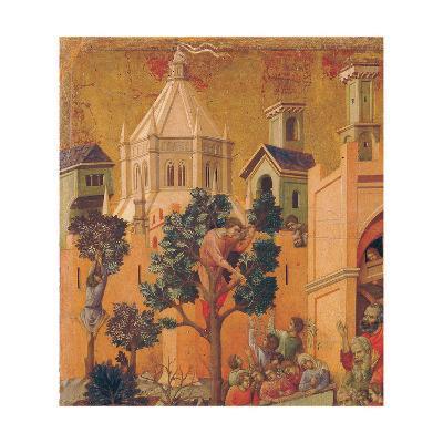 The Maestà, Front, by Duccio Di Buoninsegna, 1308 - 1311, 14th Century, Tempera on Panel-Duccio Di buoninsegna-Giclee Print