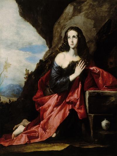 The Magdalen at Prayer-Jusepe de Ribera-Giclee Print