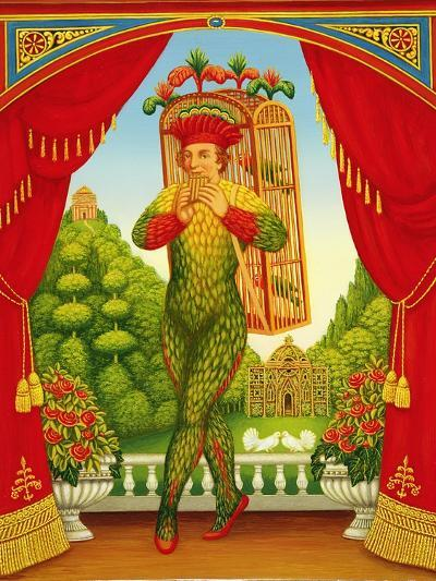The Magic Flute, 1998-Frances Broomfield-Giclee Print