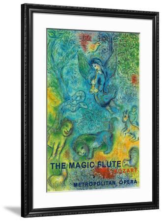 The Magic Flute - Mozart - Metropolitan Opera-Marc Chagall-Framed Giclee Print