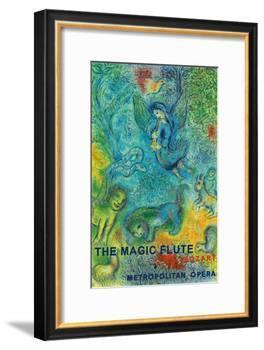 The Magic Flute - Mozart - Metropolitan Opera-Marc Chagall-Framed Art Print