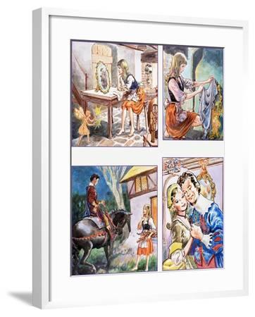 The Magic Mirror--Framed Giclee Print