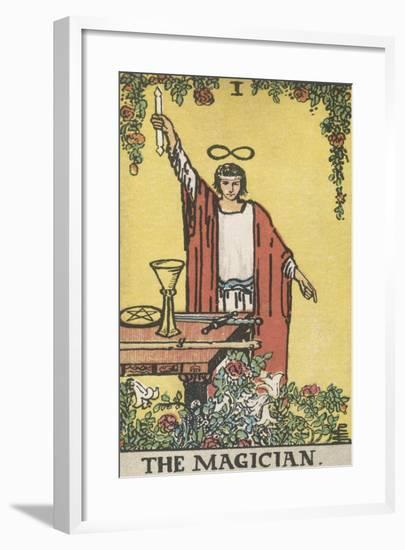 The Magician--Framed Giclee Print
